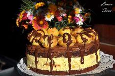 Tort Profiterol | Retete culinare cu Laura Sava - Cele mai bune retete pentru intreaga familie Romanian Desserts, Something Sweet, Sweet Treats, Good Food, Food And Drink, Cooking Recipes, Ice Cream, Sweets, Candy