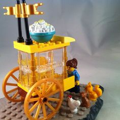 Everyone LOVES the lego popcorn lady  by legoshark1974