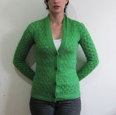 Ravelry: Pomme de pin Cardigan pattern by Amy Christoffers