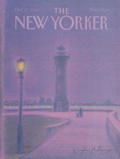 The New Yorker - Monday, October 27, 1986 - Issue # 3219 - Vol. 62 - N° 36 - Cover by : Eugène Mihaesco