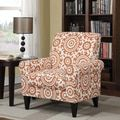Harrison Floral Fabric Tufted Club Chair by Christopher Knight Home - Free Shipping Today - Overstock.com - 19625666 - Mobile