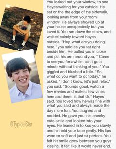 Imagine i want that to happen. I would love to at least meet him.  Would do anything to meet him i love him so much more than all the other magcon boys. Follow me please @hayesgrier