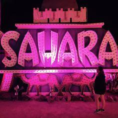 Make sure you go to the #neonmuseum, it's a boneyard for vintage neon Vegas signs. An awesome walk through the history of #lasvegas #saharacasino #stardustlasvegas #rivieralasvegas  via ✨ @padgram ✨(http://dl.padgram.com)