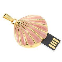 EUR € 25.75 - 16G Shell Shaped USB-muistitikku vapaa laivaliikenteen kaikki gadgetit!