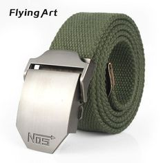 694af512bf8 Hot male tactical belt Top quality 4 mm thick cm wide canvas belt For men  Automatic buckle Man extended 160 cm belts
