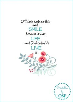 I'll look back free printable