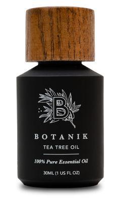 Botanik tea tree oil – packaging design – My CMS Black Packaging, Simple Packaging, Tea Packaging, Bottle Packaging, Design Packaging, Wood Packaging, Skincare Packaging, Cosmetic Packaging, Beauty Packaging