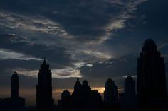 Sunset   Bangkok,  Thailand