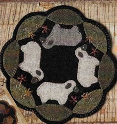 Image result for Free Penny Rug Templates