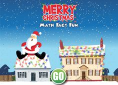 This great math game gives students practice in addition, subtraction, multiplication and division. To add lights to their string they must answer questions correctly. The harder the question, the more lights they get! More goodies on this post!