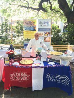 Savannah Riverboat Cruises' Executive Chef Christopher Myhre