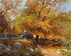 Red Maple by Mark Haworth Oil ~ 16 x 20