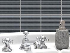 6 Design Fliesenaufkleber – Modern- 35055 Fliesenbild Fliesenbilder Aufkleber in Möbel & Wohnen, Badzubehör & -textilien, Kacheldekore | eBay