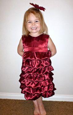 Vivienne Party Dress PDF Pattern & Tutorial by PeekabooPatternShop, $6.50