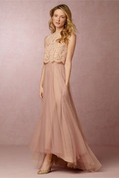 Petal Skirt in Bridesmaids Bridesmaid Separates at BHLDN