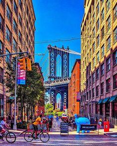 Manhattan Bridge, City Break, Best Cities, Did You Know, Times Square, The Neighbourhood, New York, Names, Travel