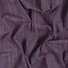 Phlox Pink Textural Gauzy Cotton Woven
