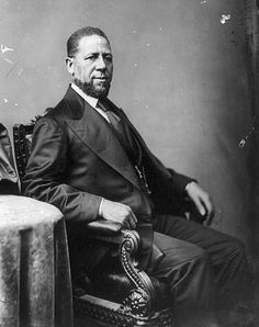 February 25, 1870: Hiram Rhodes Revels, (R-MS), was sworn into the U.S. Senate, becoming the first African American ever to serve in Congress.