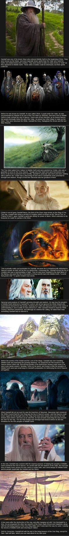 Relatively Unknown Lord of the Rings Facts - Gandalf: