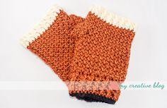 Ravelry: Moss Stitch Fingerless Gloves pattern by Heather Boyer