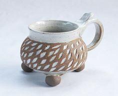 western north carolina pottery coffee mugs handmade stoneware ceramic batton clayworks.