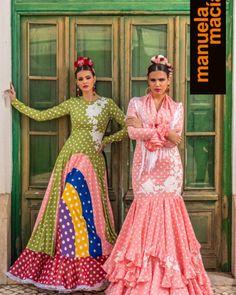 Colección 2019 Manuela Macías Moda Flamenca Spanish Fashion, French Fashion, European Fashion, New Fashion Trends, Fashion 2020, Womens Fashion, Flamenco Skirt, Spanish Dress, Barcelona Fashion
