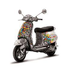 Vespa on Behance Vespa Et4, Vespa Logo, Vespa Motorcycle, Vespa Girl, Scooter Girl, Vespa Scooters, 49cc Moped, Classic Vespa, Bike Art
