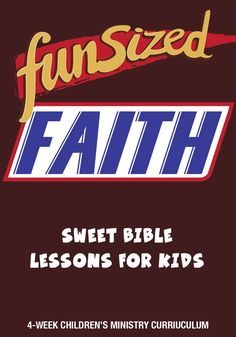 Fun Sized Faith Children's Ministry Curriculum – Children's Min… Fun Sized Faith Children's Ministry Curriculum – Children's Ministry Deals Pin: 236 x 337 Bible Object Lessons, Bible Lessons For Kids, Bible For Kids, Childrens Ministry Deals, Childrens Sermons, Youth Ministry, Children Ministry, Youth Rooms, Church Ministry