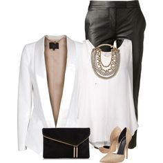 """""""Leather Pants"""" by ginga1203 on Polyvore"""