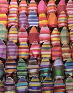 Moroccan Baboosh slippers