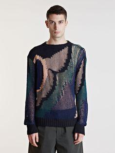 0dadf3d9d696 Dries Van Noten Mens Neroli Sweater Knitwear Fashion