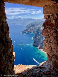 Capo Rosso Places to travel 2019 - Travel Photo Beautiful Places In The World, Places Around The World, Wonderful Places, Around The Worlds, Places To Travel, Places To See, France Travel, Amazing Destinations, Vacation Spots