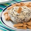 Chocolate Chip Dip - - I served this with chocolate animal crackers.  Yum!
