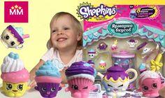 Распаковка Шопкинс 8 Эксклюзивных фигурок Набор фабрика кексов