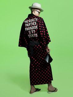 【画像 5/12】伊勢丹x東京10ブランドとのコラボ浴衣 ティザームービー独占公開の拡大写真