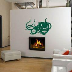 Kraken fireplace