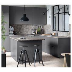 Laminate Countertops, Kitchen Countertops, Kitchen Appliances, Concrete Countertops, Kitchen Sink, Kitchen Decor, Modern Kitchen Design, Interior Design Kitchen, Modern Kitchen Inspiration