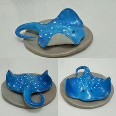 Stingrays are adorable 2019 Stingrays are adorable The post Stingrays are adorable 2019 appeared first on Clay ideas. Ceramics Projects, Polymer Clay Projects, Diy Clay, Clay Crafts, Clay Fish, Ceramic Fish, Ceramic Clay, Polymer Clay Animals, Polymer Clay Canes