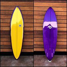"""album surfboards, #custom 6'5"""" Ledge for Steve // #albumsurfboards..."""