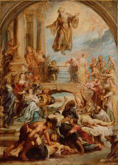 Los milagros de San Francisco de Paula - 1627
