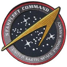 Star Trek Starfleet Command UESPA United Earth Space Probe Agency Patch