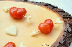 La ricetta dei cuori di Pomodorini per San Valentino