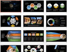 Fantasy Alien Exo Planet PowerPoint by SageFox