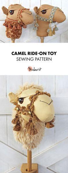 Ride along camel pattern