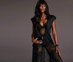 Naomi Campbell stars in La Perla Made to Measure Atelier 2015 Campaign