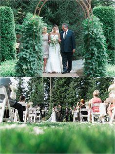 So much green!   Anna Simonak Photography   Seattle Bride Magazine