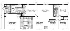 Pinehurst III Home Floor Plan | Manufactured and/or Modular Floor Plans available floor plan