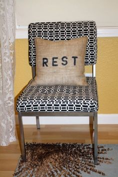 outside pillow or for the guest's that have stayed too long  :)