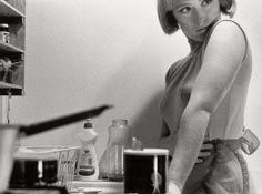 Cindy Sherman. On exhibit at MoMA until June 11.
