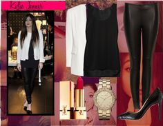"""""""Get The Look Contest: Kylie Jenner"""" by ashorinayn ❤ liked on Polyvore"""
